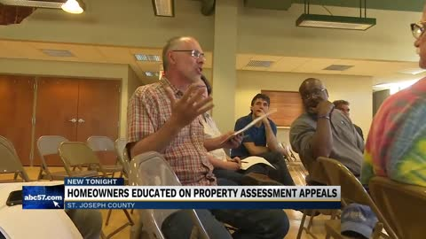 Homeowners hear how to appeal high property tax assessments